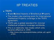 INTERNATIONAL INTELLECTUAL PROPERTY1